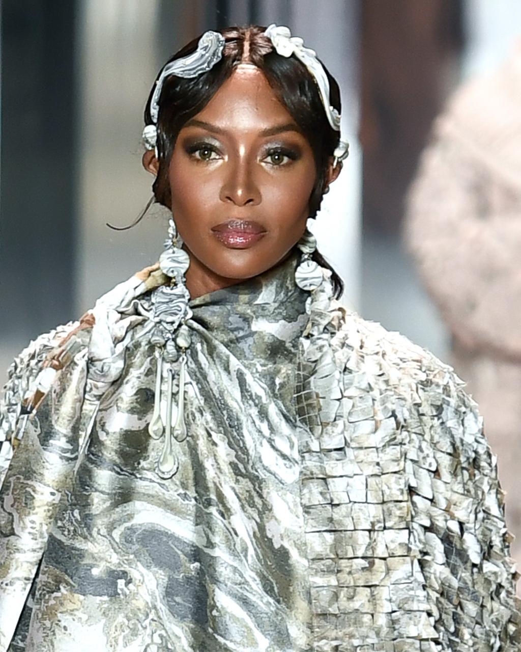 Fendi SS21 Haute Couture, Naomi Campbell