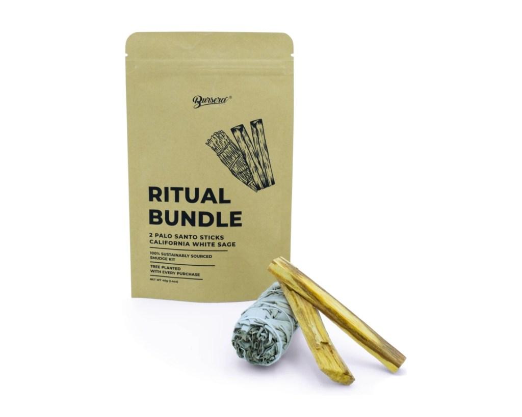 Ritual Bundle: White Sage and Palo Santo,