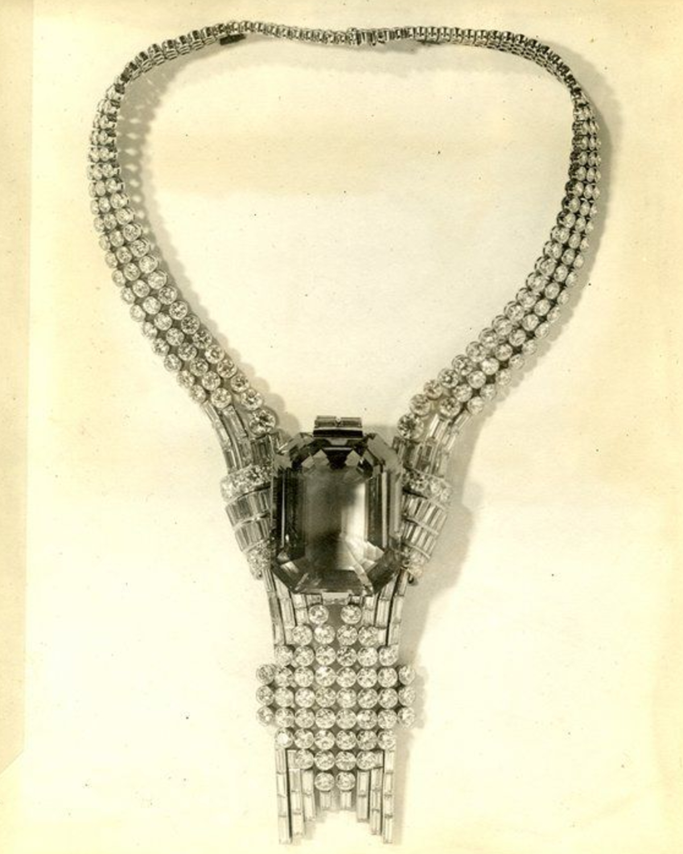Tiffany & Co 80-carat necklace