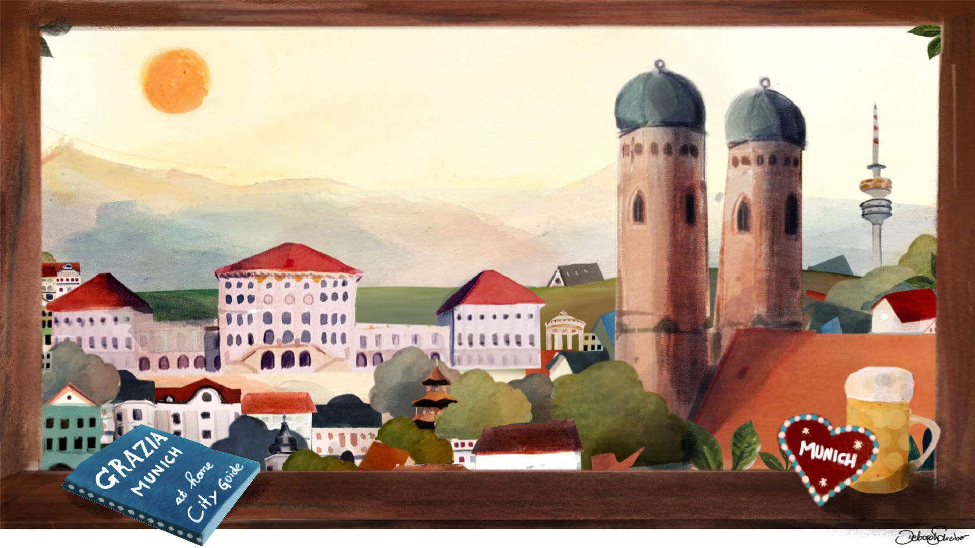 GRAZIA's At Home City Guide To Munich - Grazia USA