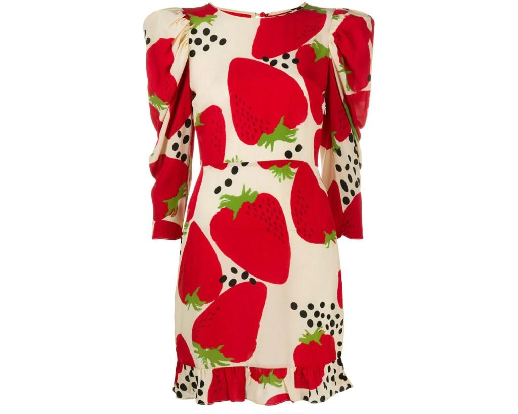 fruit dresses, fruit, Meghan Markle, Adriana Degreas