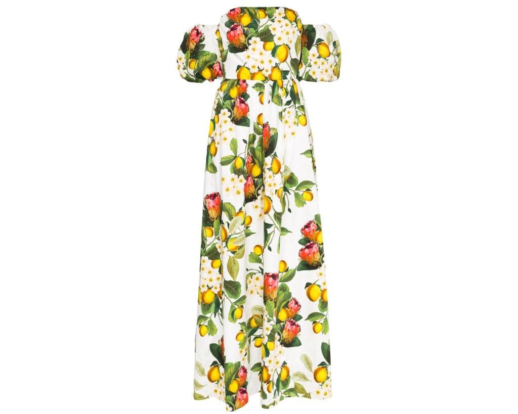 Borgo De Nor, fruit dresses, fruit, Meghan Markle