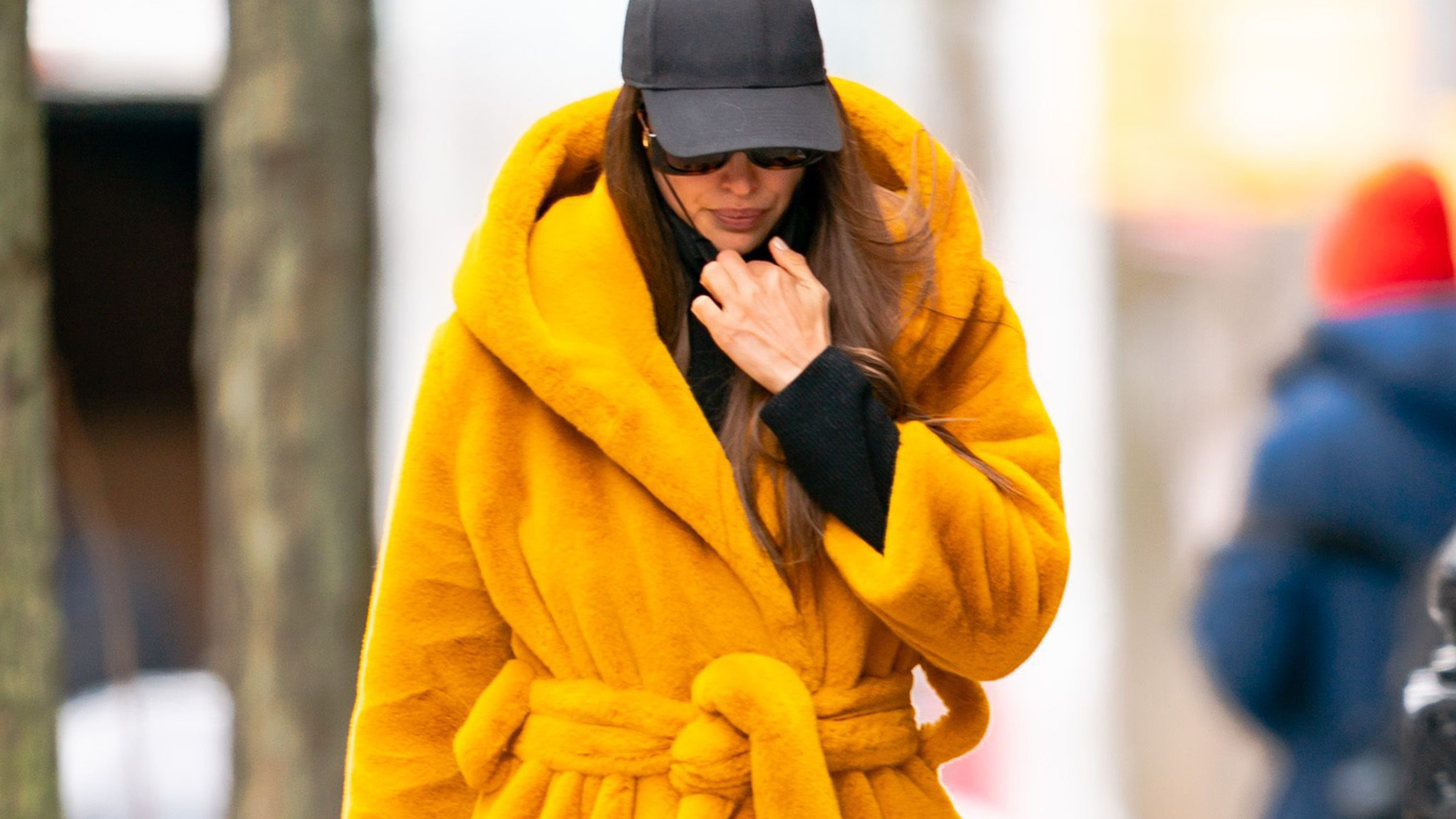 Irina Shayk Wearing Bathrobe-Chic Out In NYC Is A Vibe