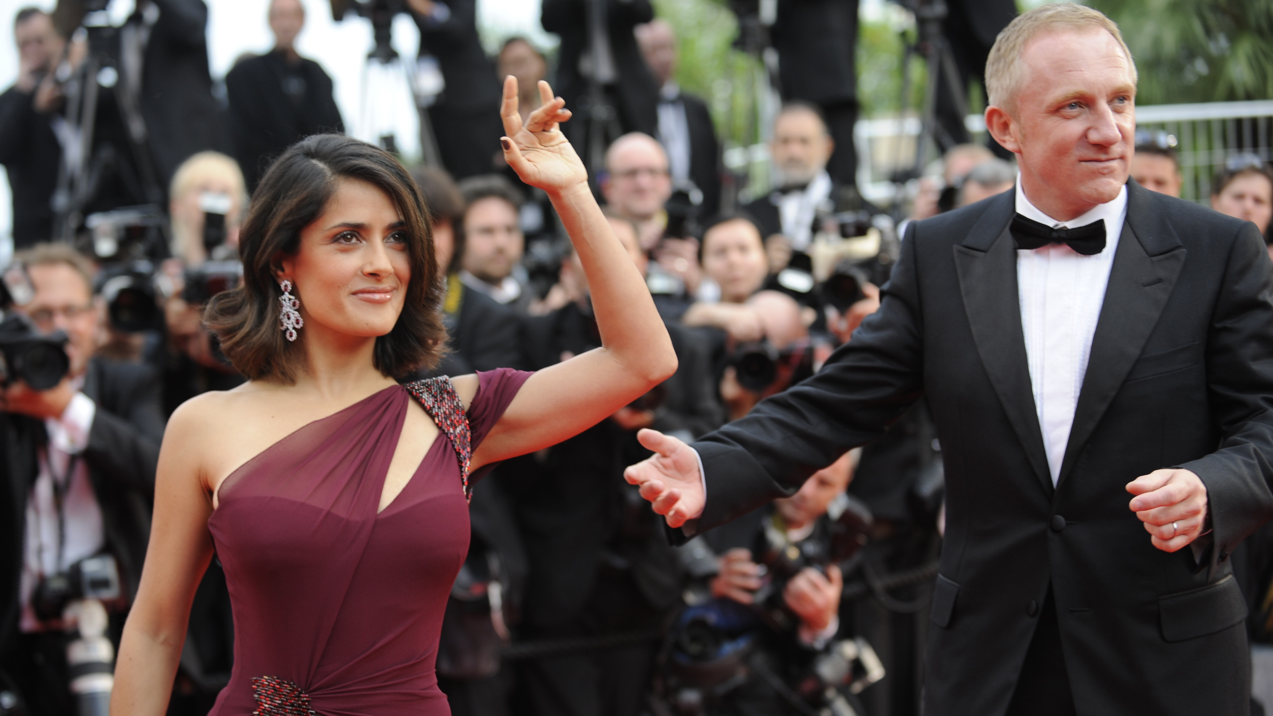 Salma Hayek Defends The Idea She Married Her Husband For His Billions