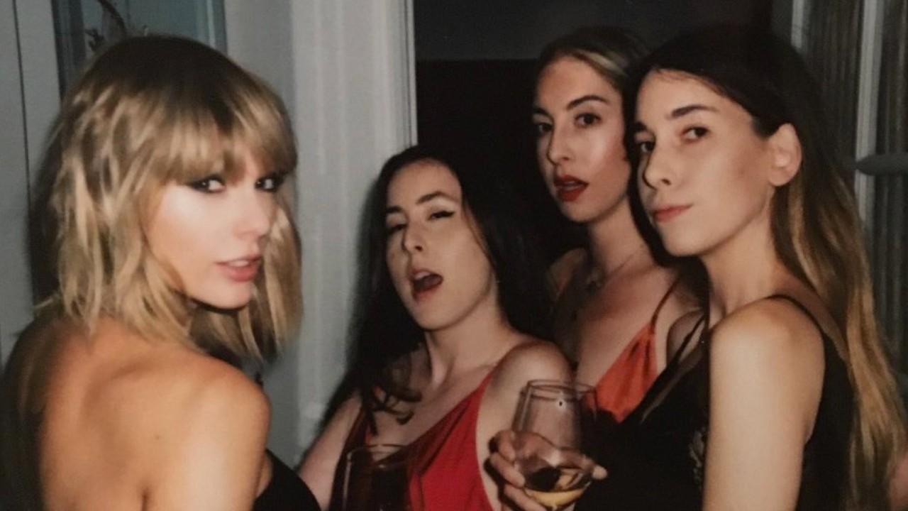 Taylor Swift Joins HAIM's 'Gasoline' Remix: Listen - Grazia