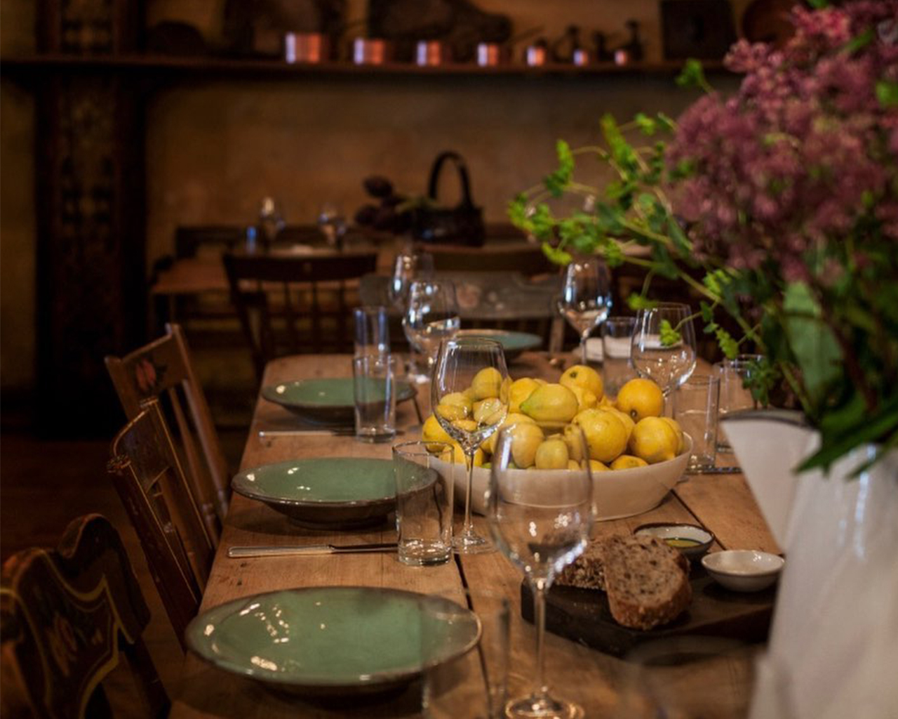 indoor dining, Il Buco