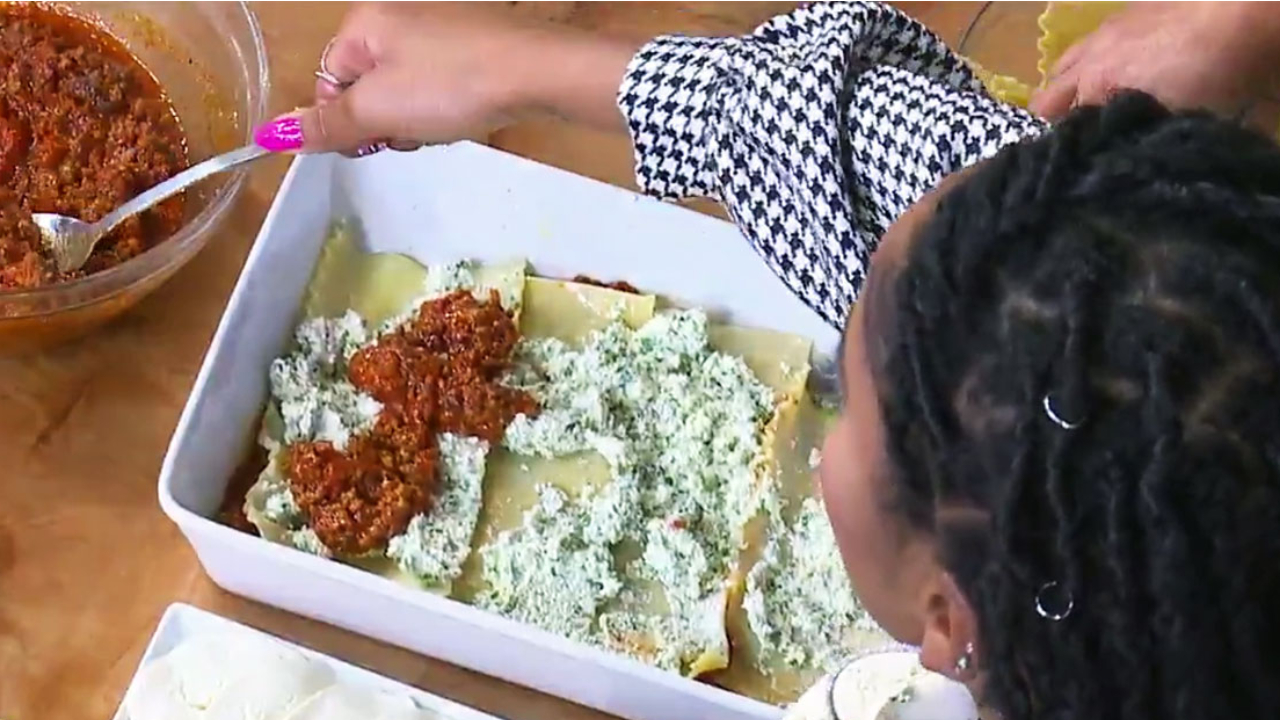 How to Make Keke Palmer's Lasagna Recipe: Watch - Grazia