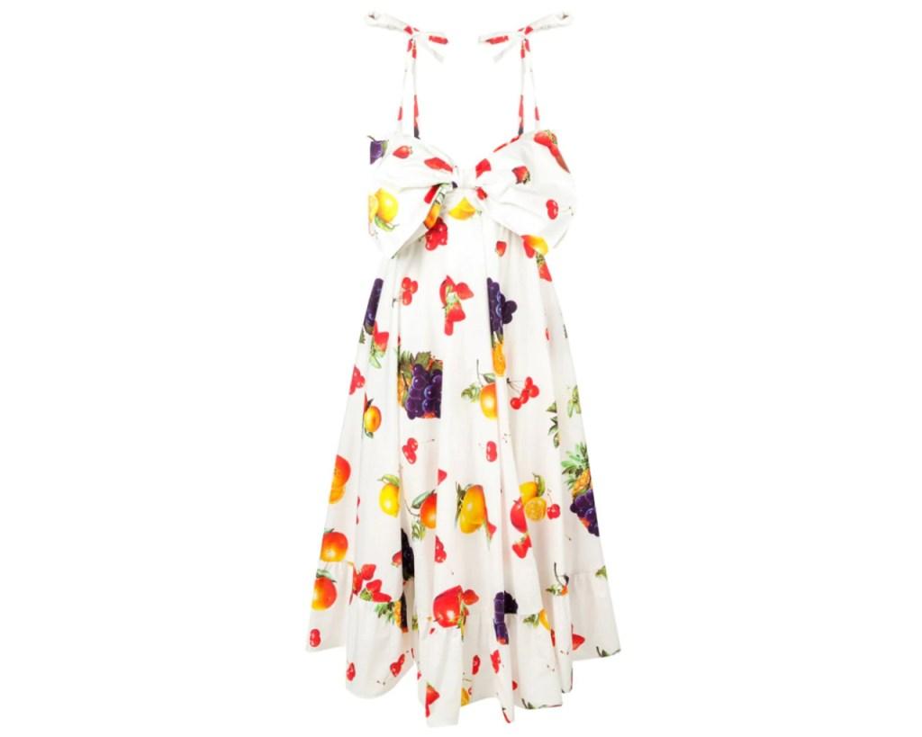 fruit dresses, fruit, Meghan Markle, MSGM