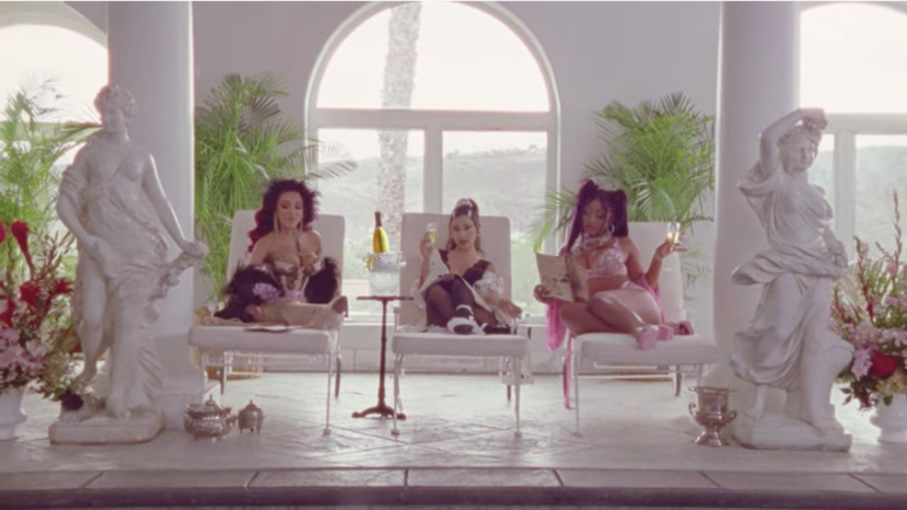 """Ariana Grande's """"34+35"""" Remix Is The Perfect Galentine's Day Inspiration"""