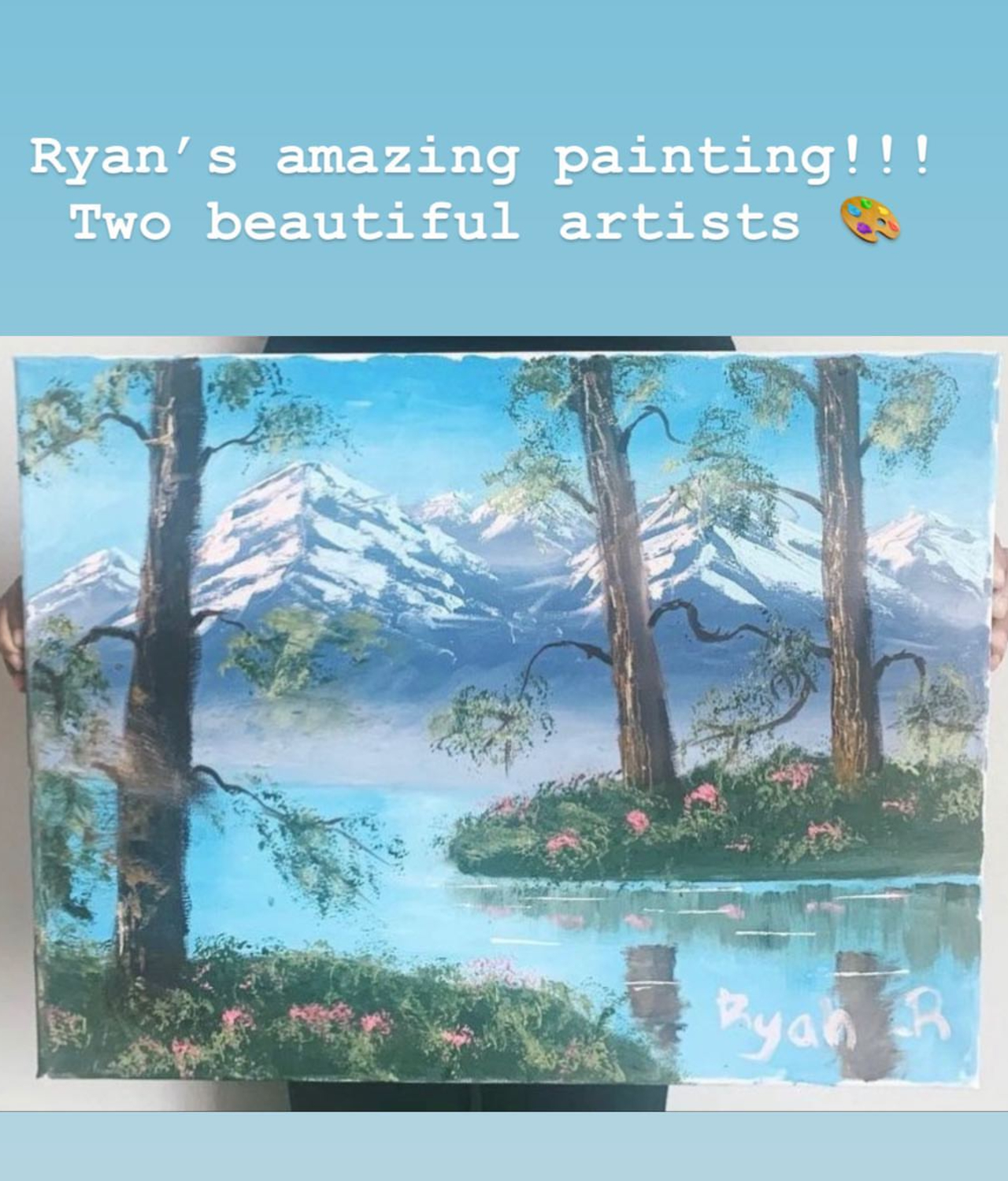 oil painting, North West