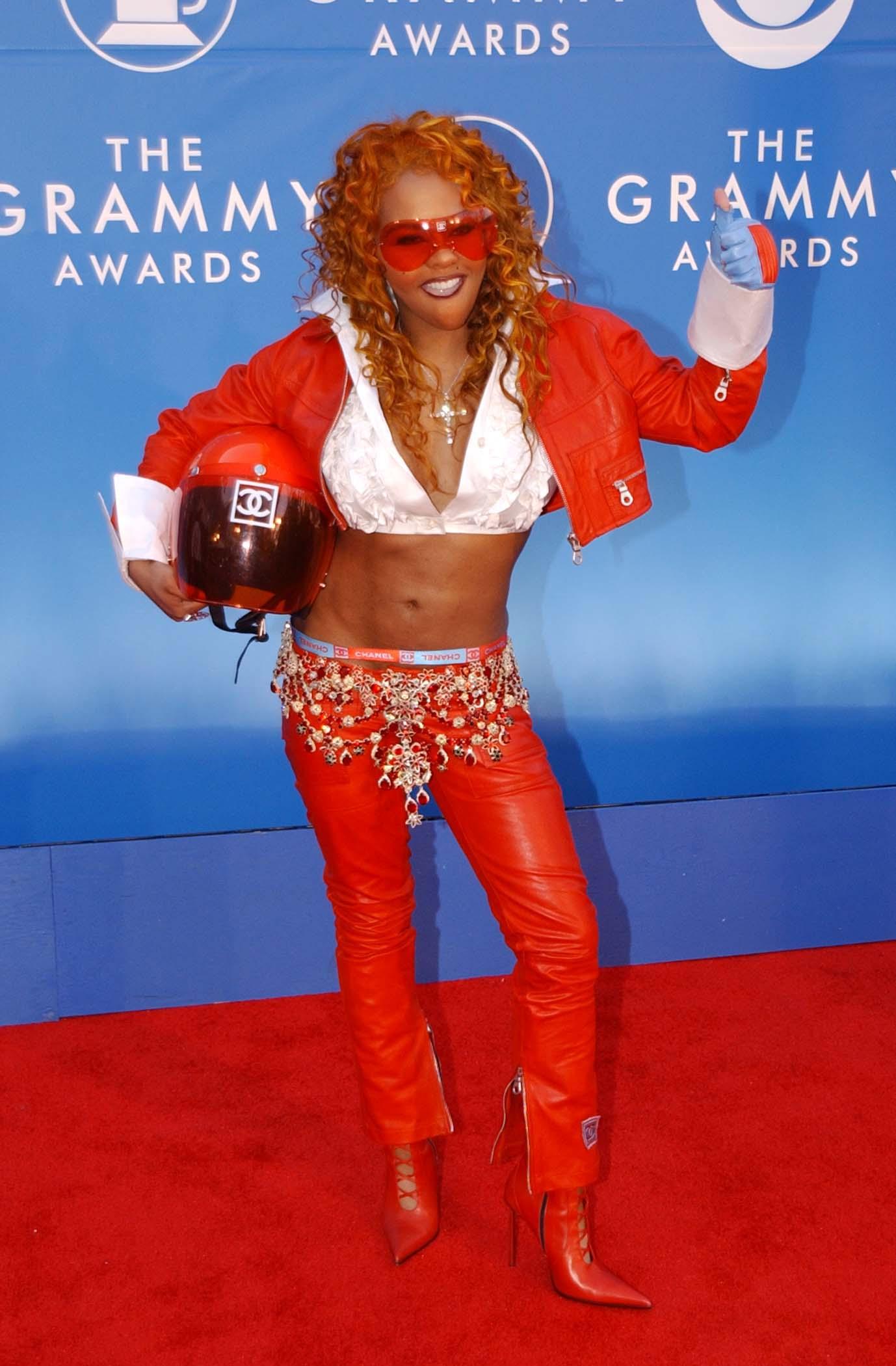 Lil Kim at Grammy's