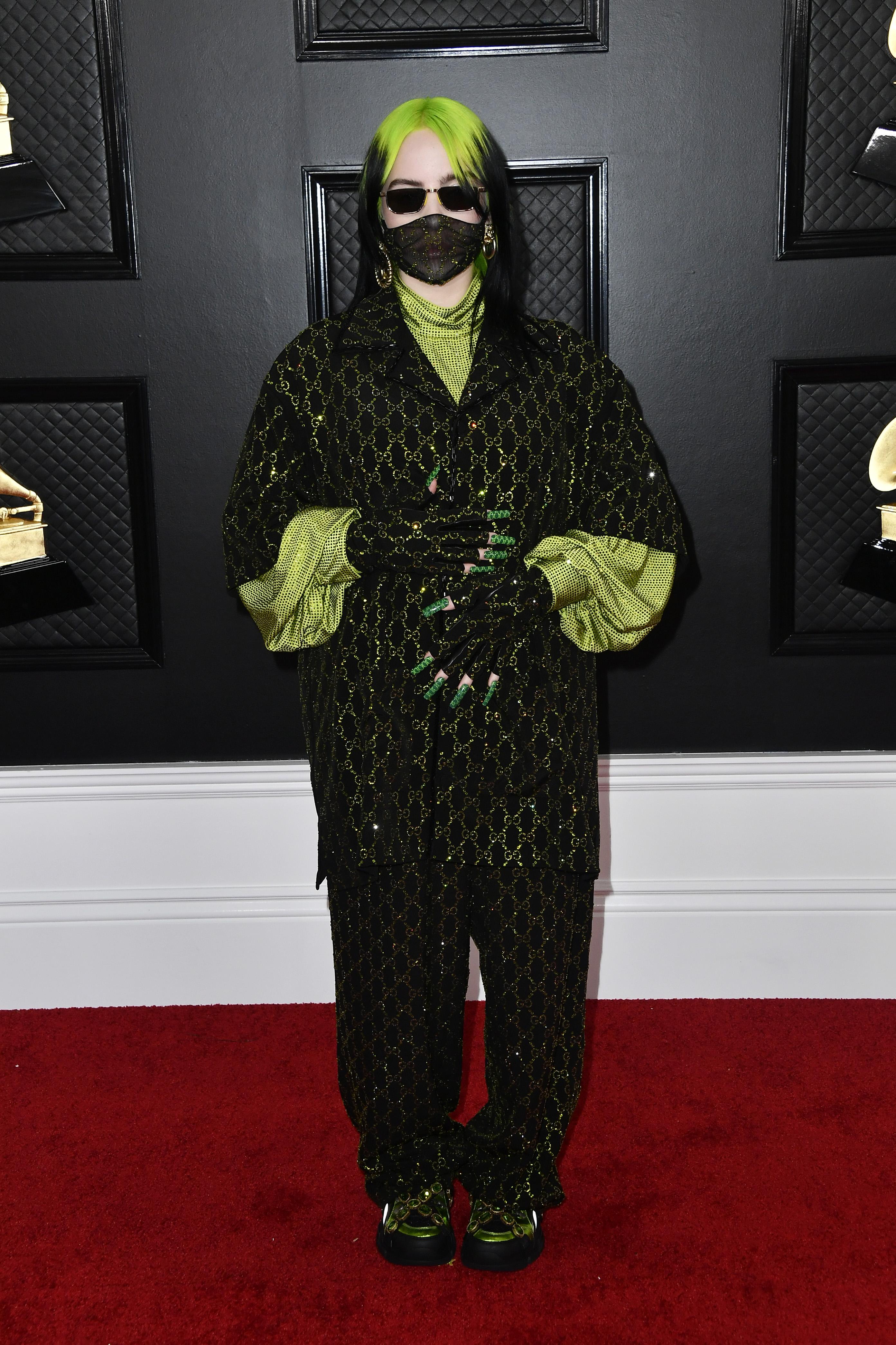 Billie Eilish at the Grammy's