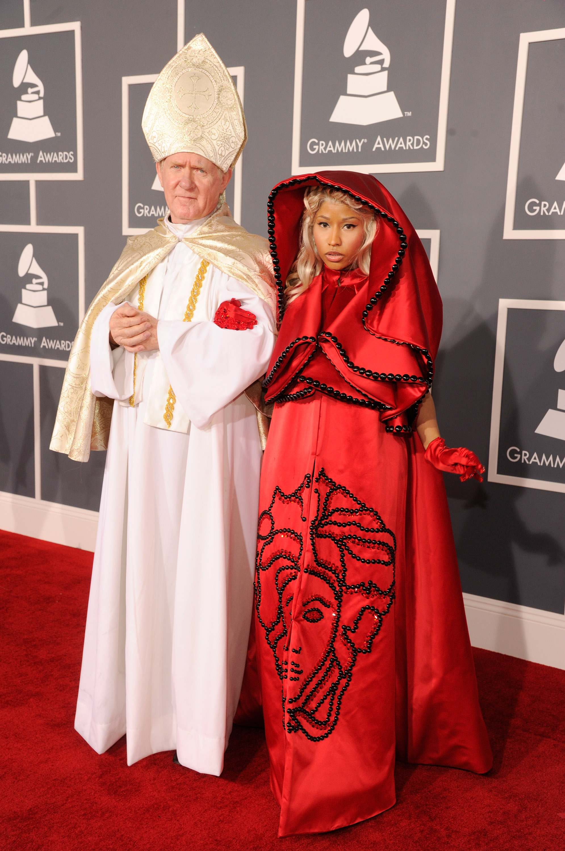 Nicki Minaj at the Grammy's