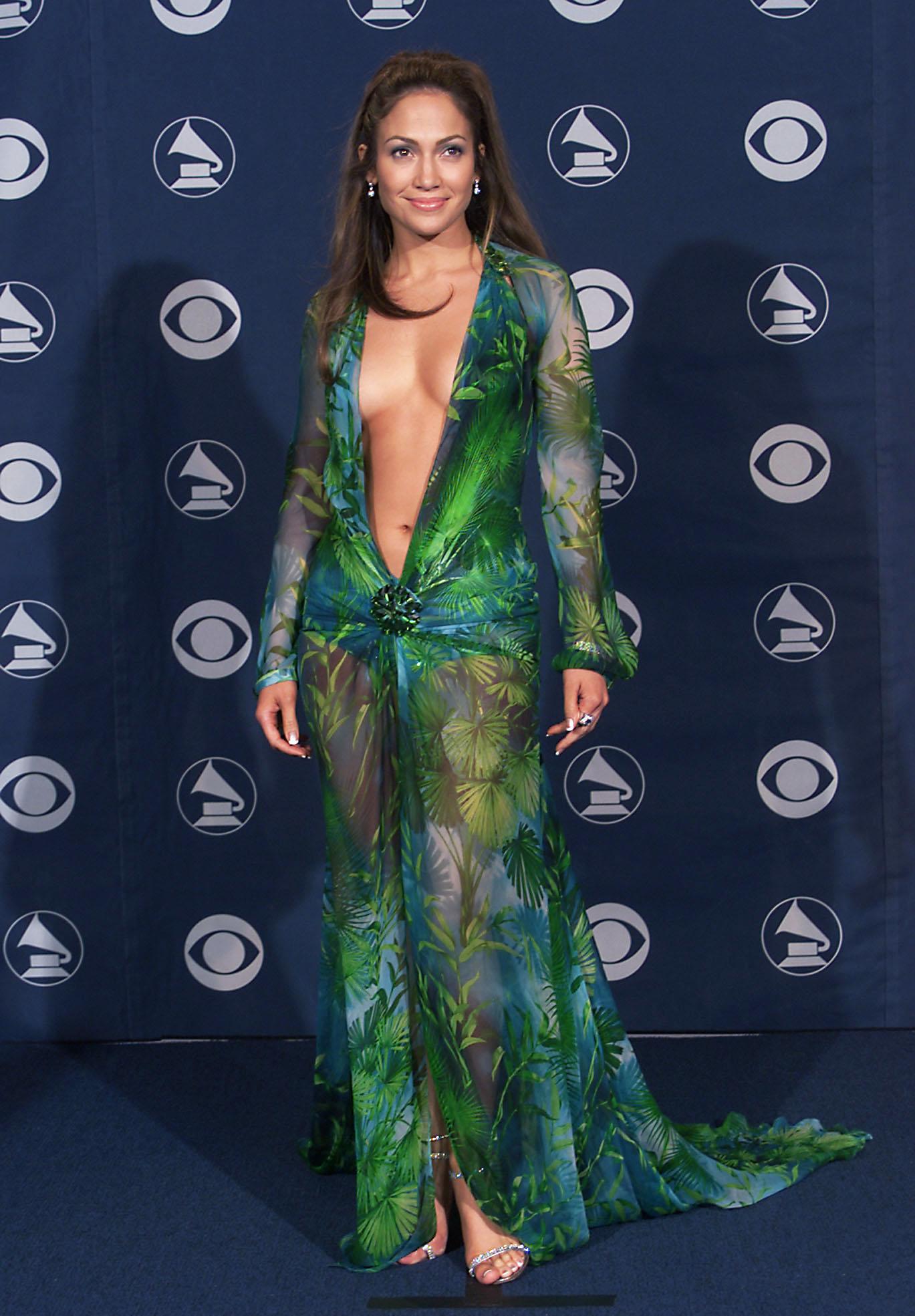Jennifer Lopez at Grammy's