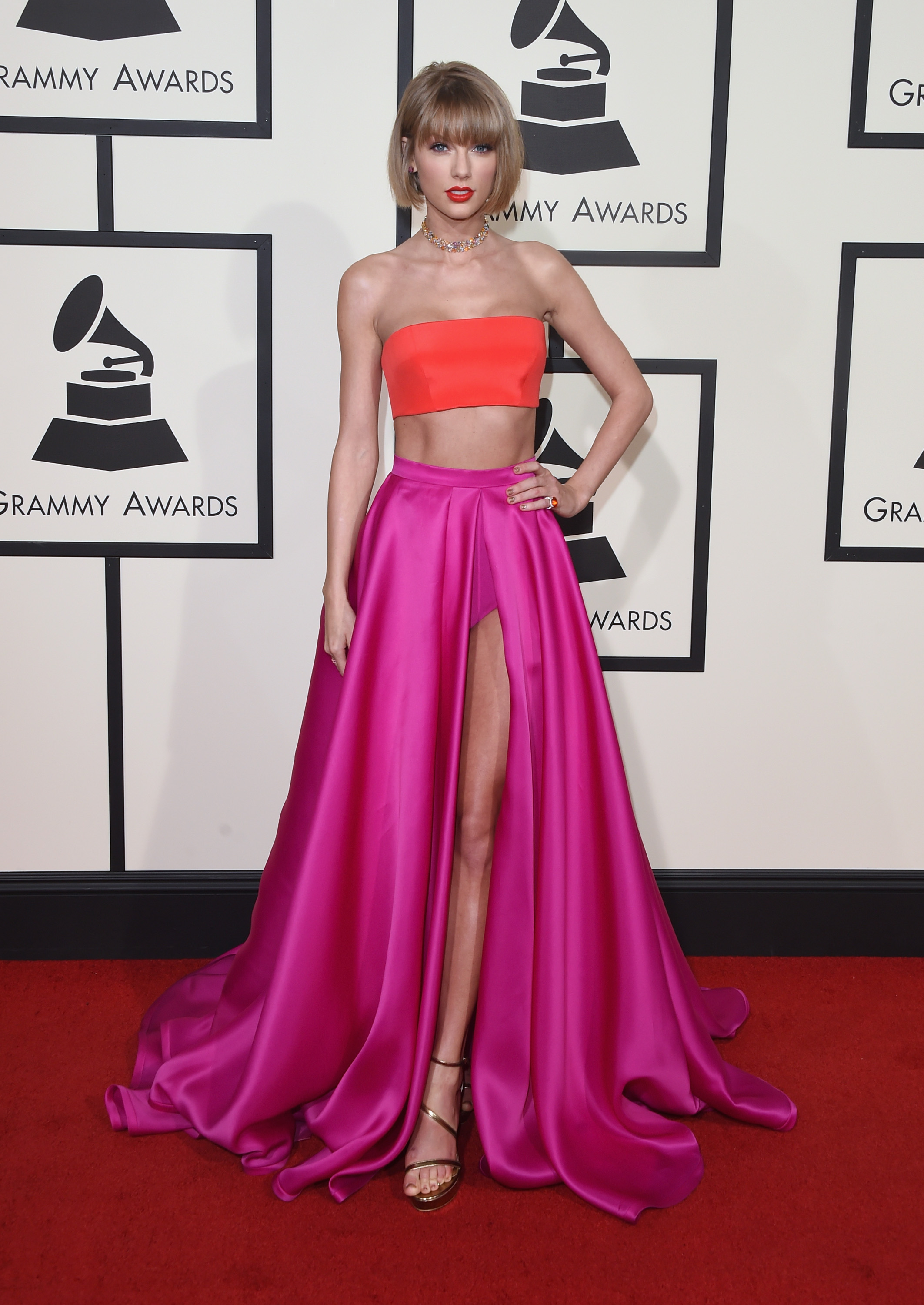 Taylor Swift at the Grammy's
