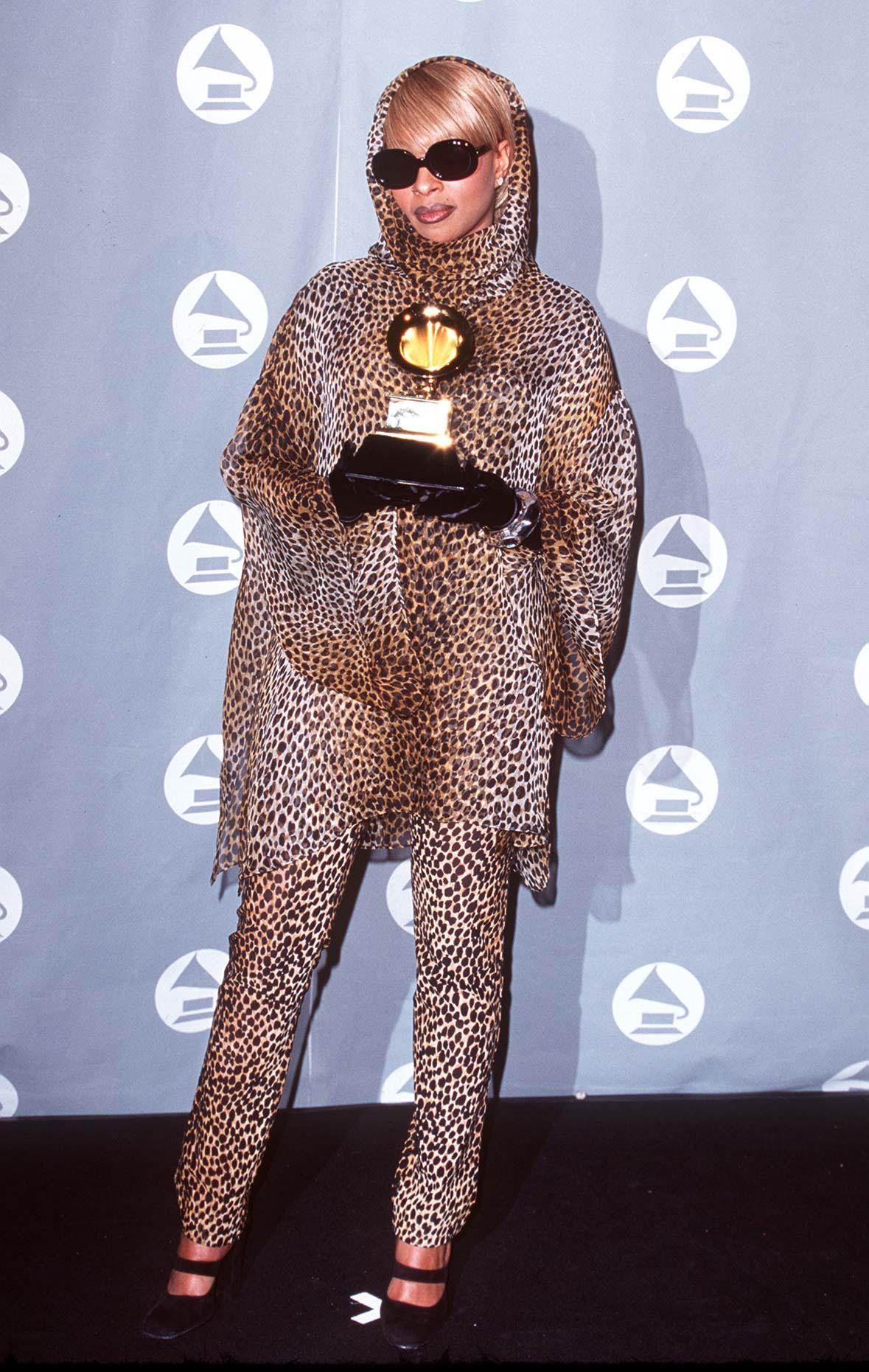 Mary J. Blige at Grammy's