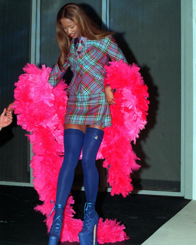 Feather Boa, Naomi Campbell