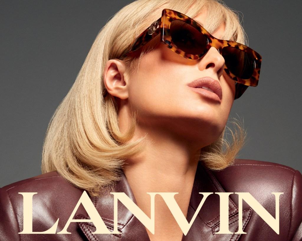 Paris Hilton, Lanvin