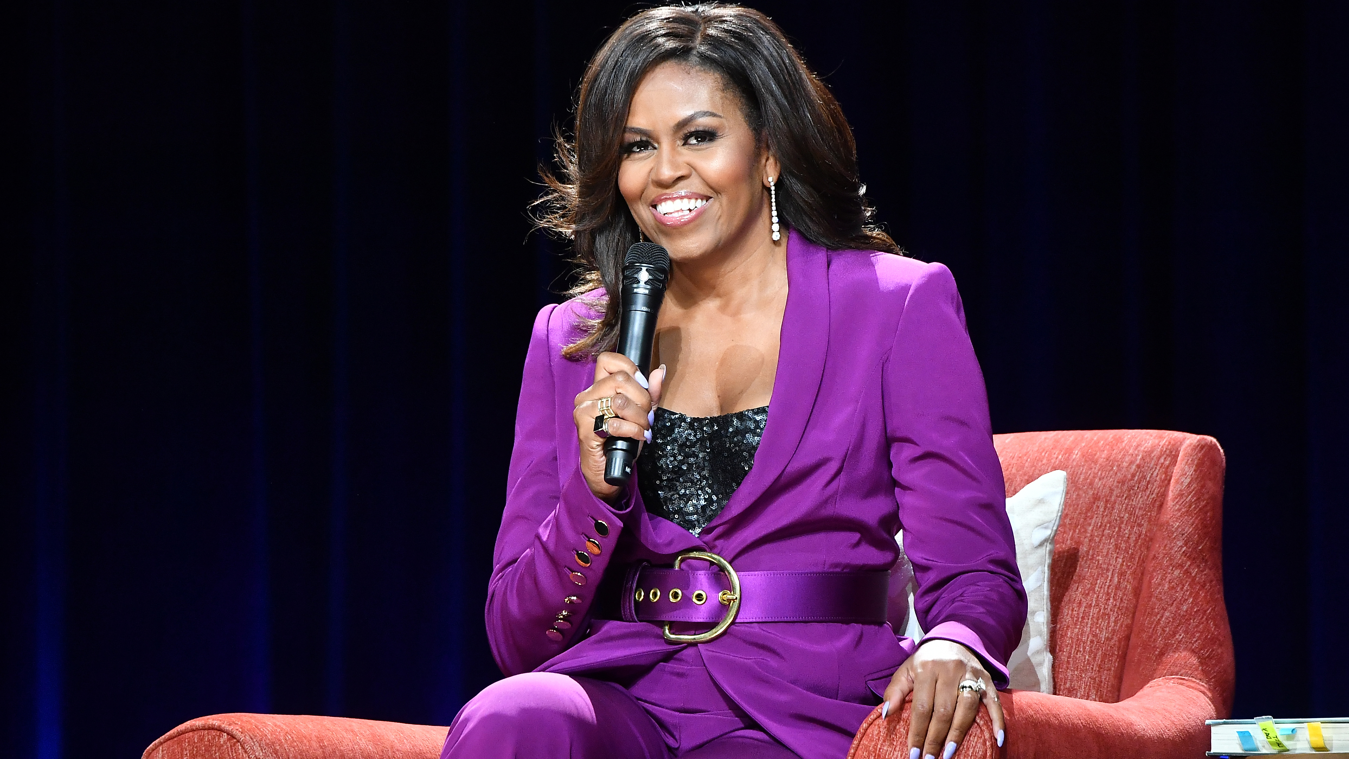 """Michelle Obama Had The Best Response To Jimmy Kimmel's """"Sick"""" Question About Her Sex Life With Husband Barack - Grazia USA"""
