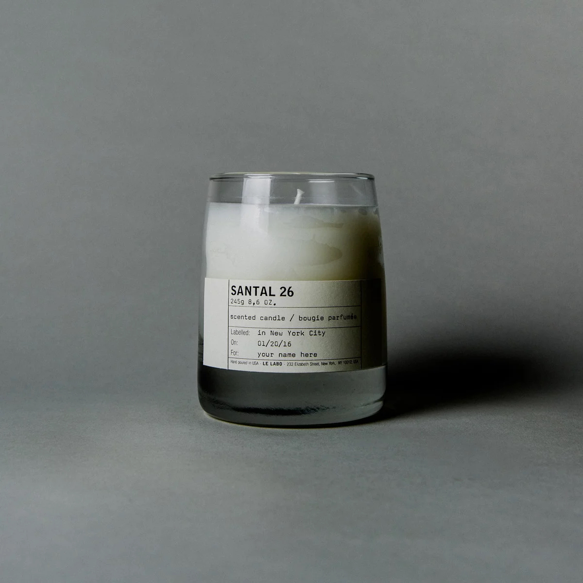 Santal 26 Candle