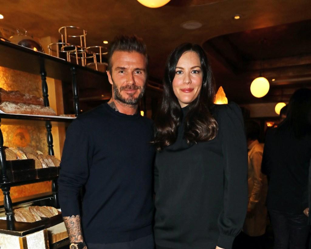 David Beckham Liv Tyler
