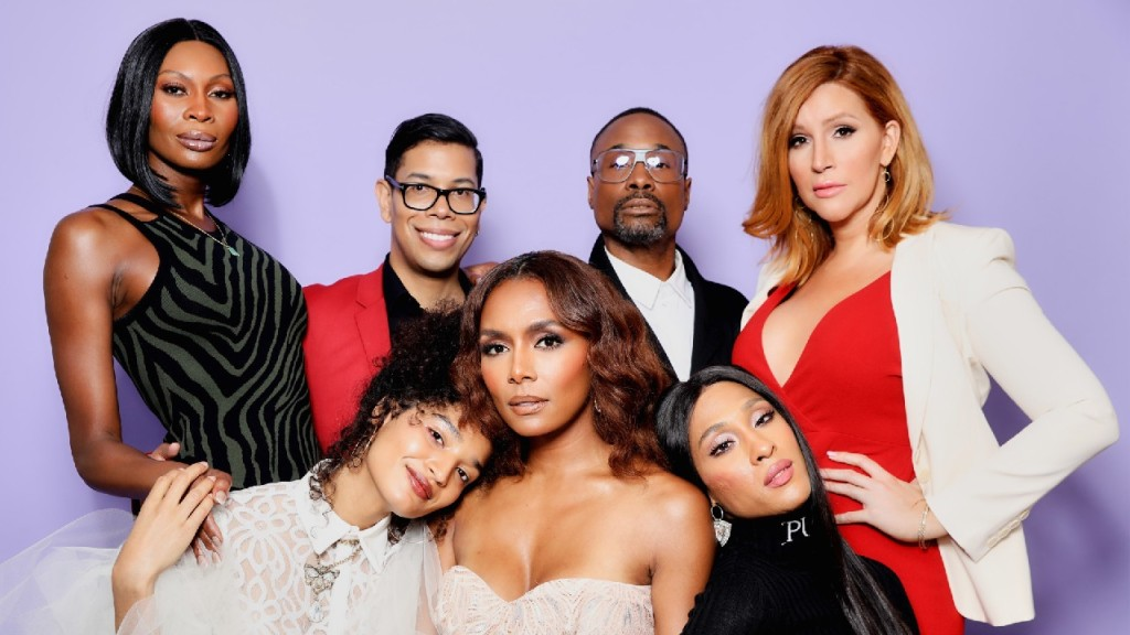 Dominique Jackson, Steven Canals, Billy Porter, Our Lady J, Indya Moore, Janet Mock and Mj Rodriguez