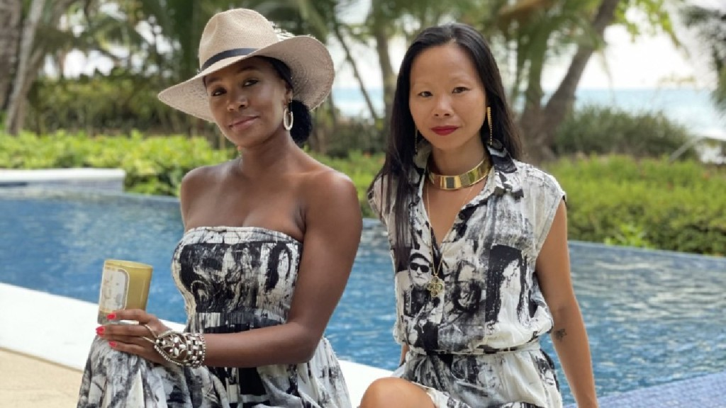 Teri Johnson of Harlem Candle Company and Vanessa Lee of Lionette NY