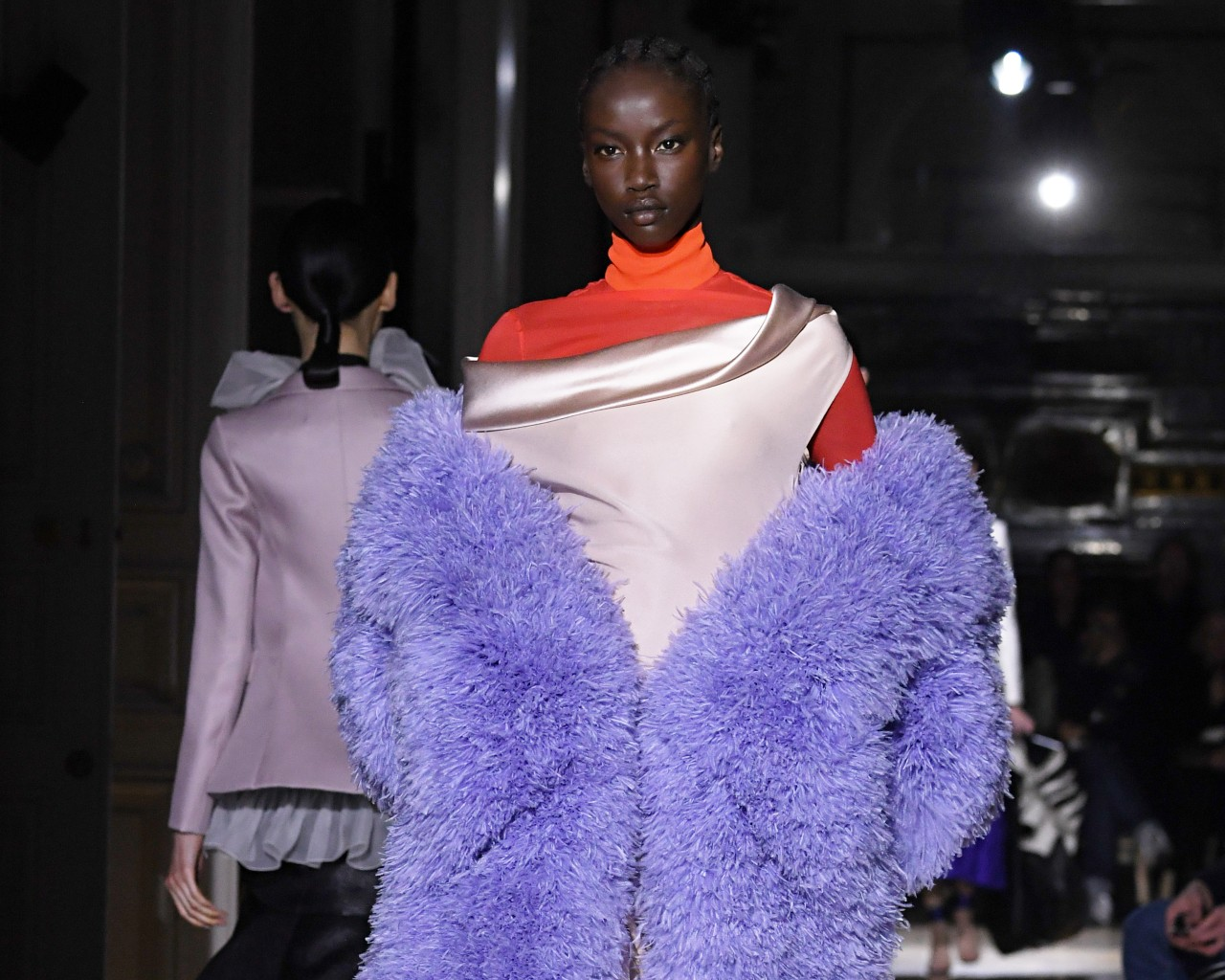 Valentino, animal fur