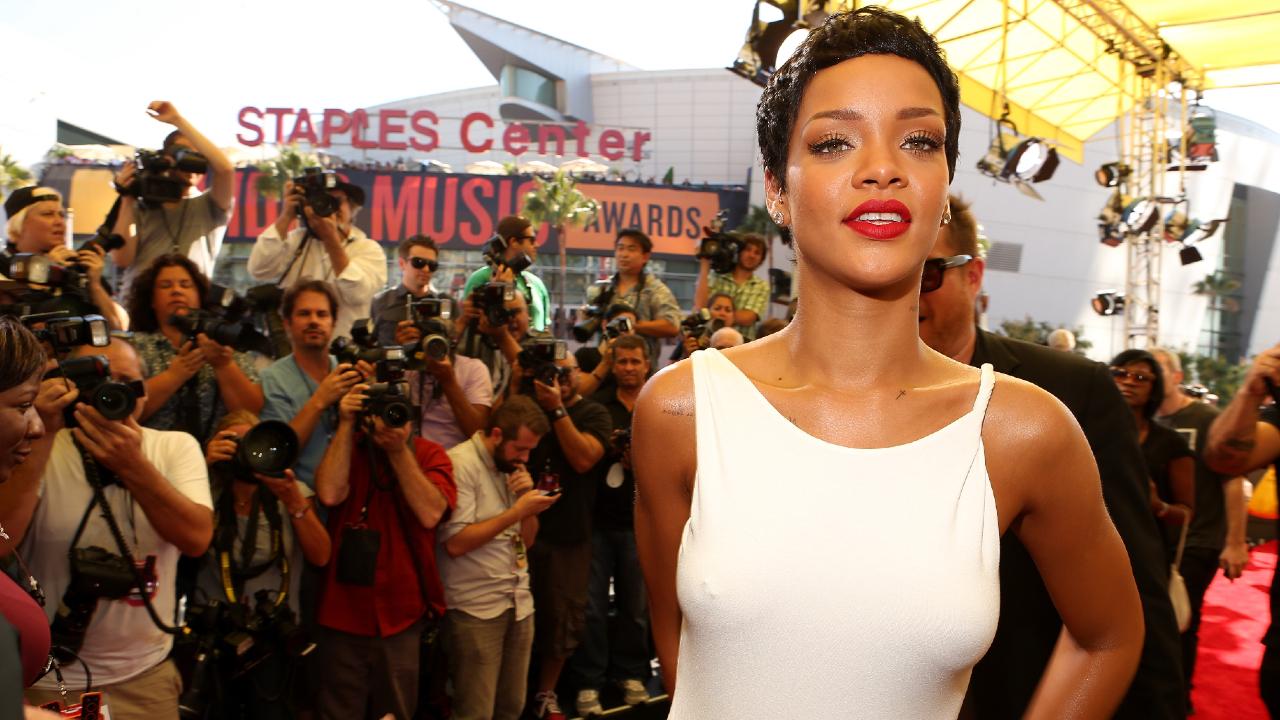 Rihanna, Pixie Cut