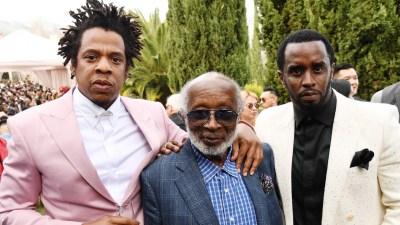 Jay-Z, Clarence Avant, Sean Combs