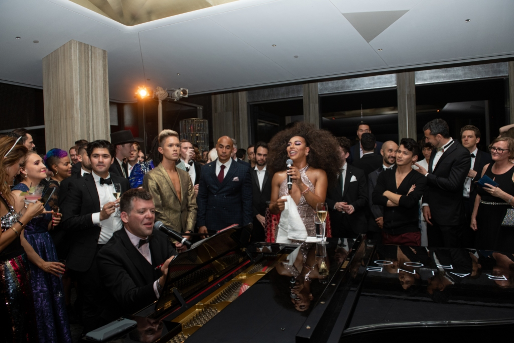 Shangela performs at the Love Above All Ball