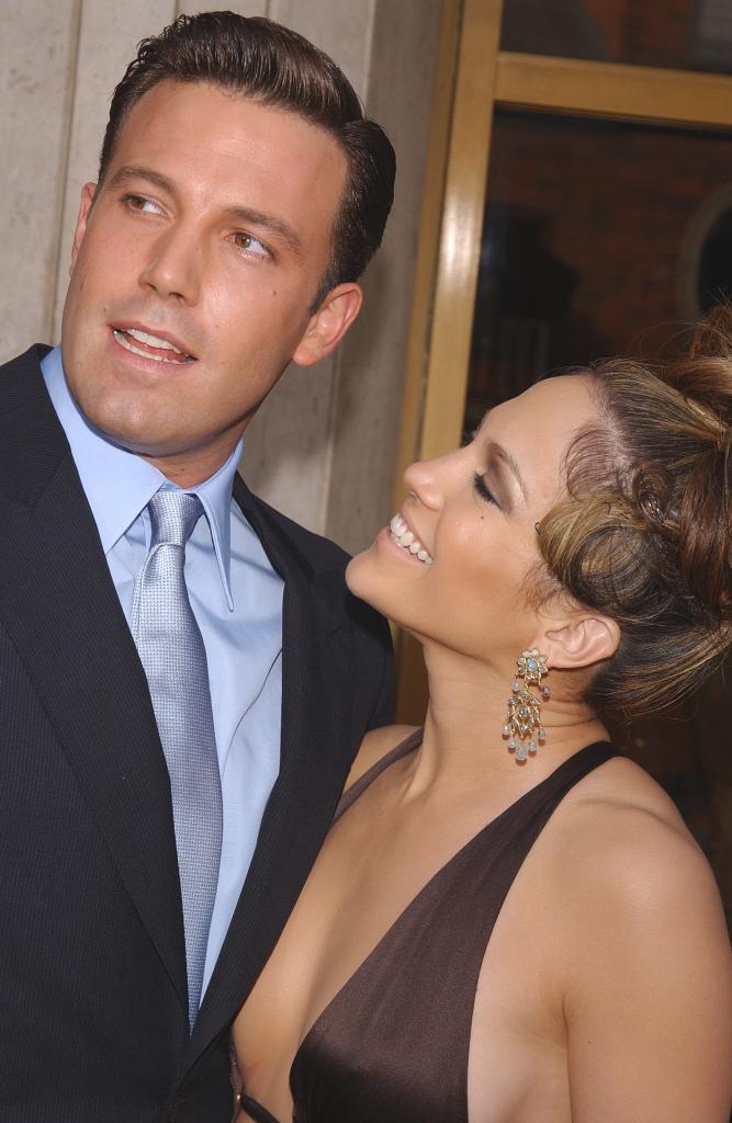 Jen Lopez and Ben Affleck