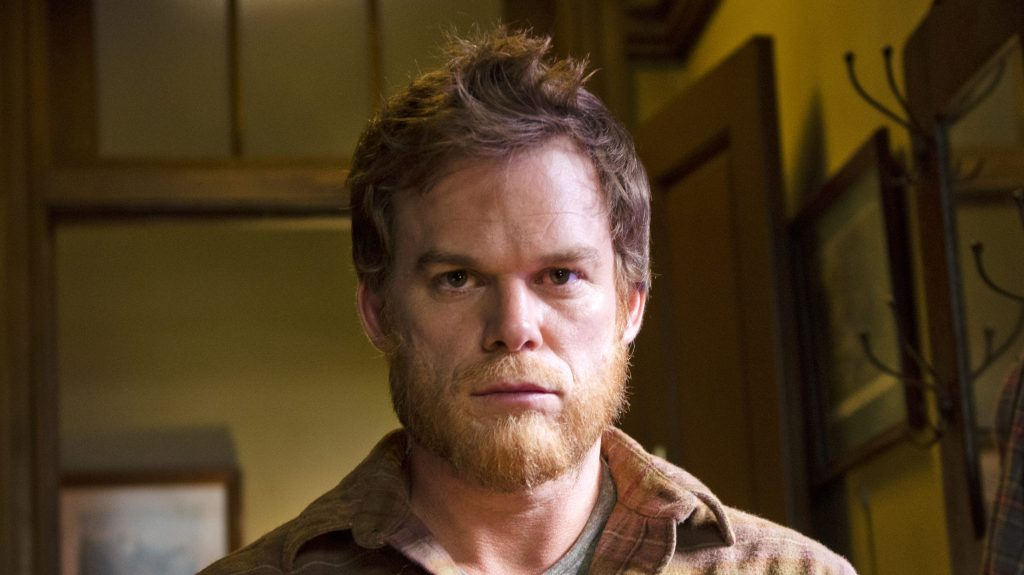 Michael C. Hall in the series finale of Dexter