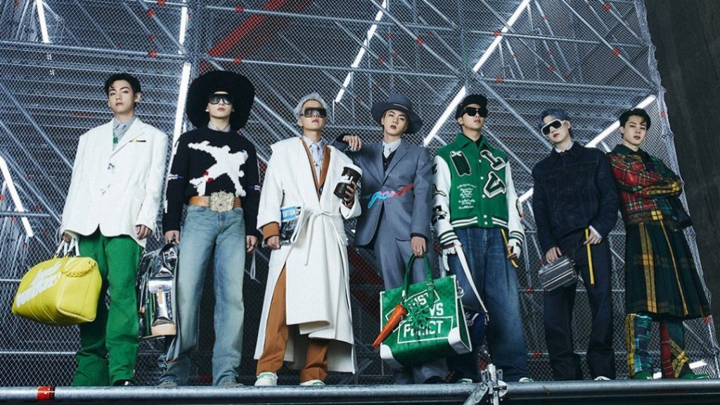 BTS for Louis Vuitton