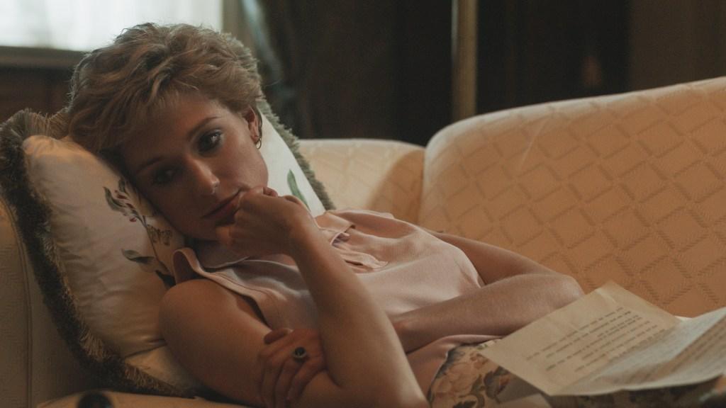 Elizabeth Debicki in <i>The Crown</i>