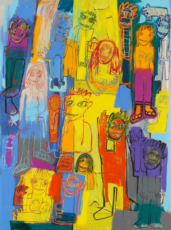 Adam Levine-art