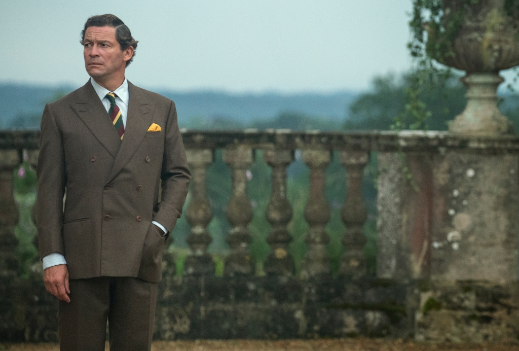 Dominic West in <i>The Crown</i>