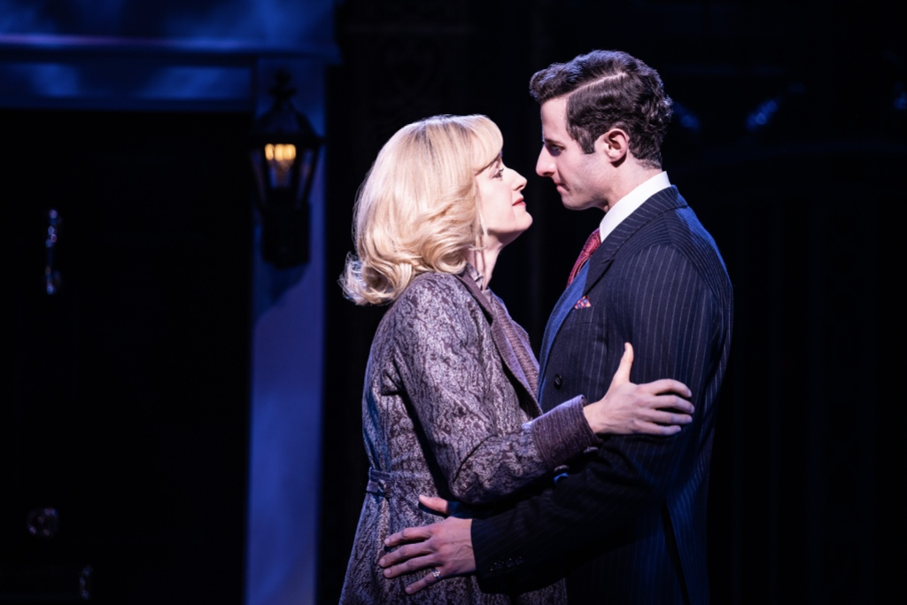 Erin Davie and Roe Hartrampf in <i>Diana: The Musical</i>