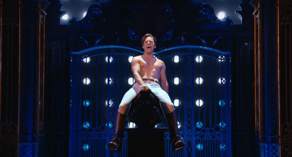 Gareth Keegan in <i>Diana: The Musical</i>