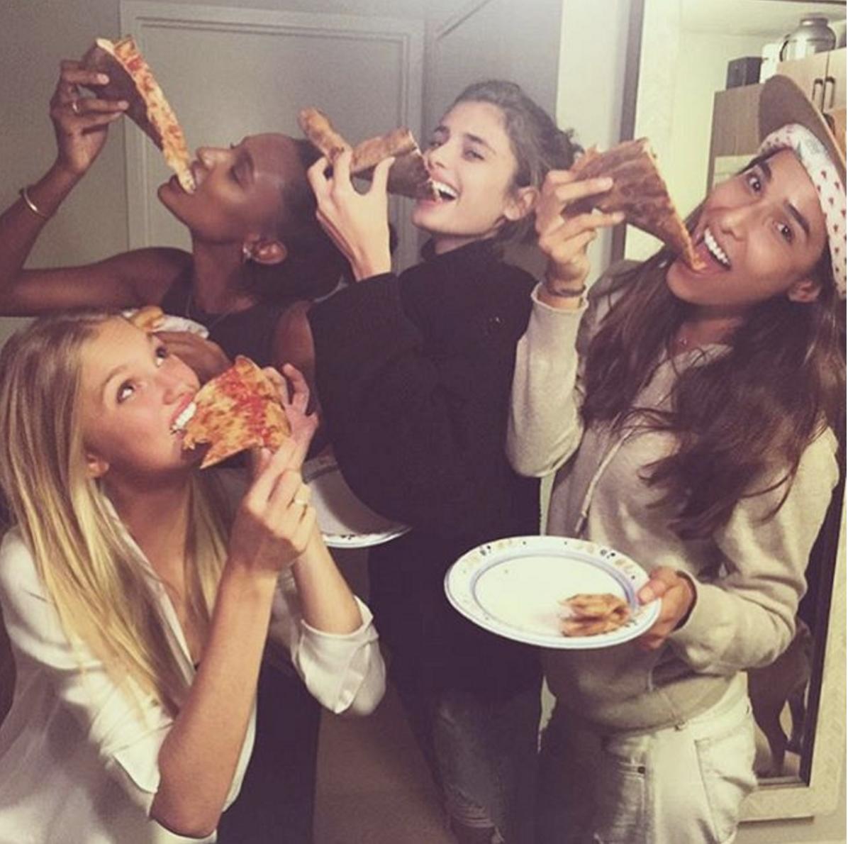 18 pizza nights happen