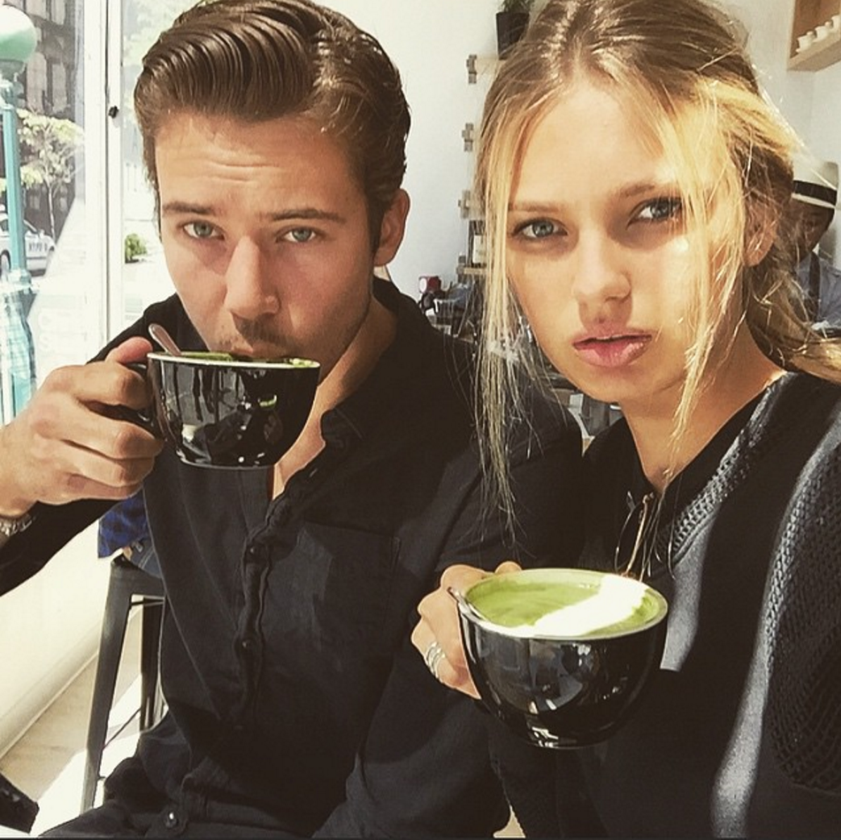 20 Up your matcha game with a hot matcha