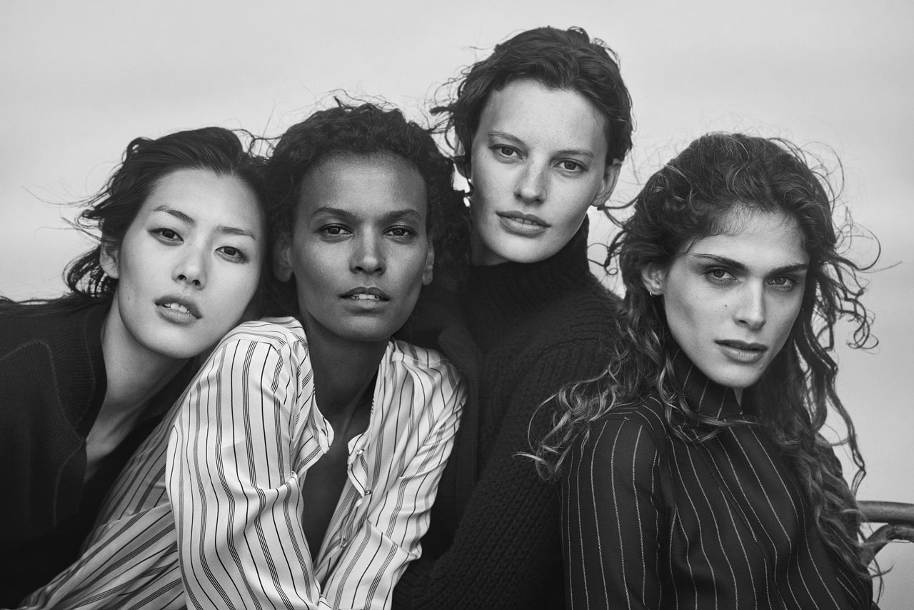 Giorgio Armani New Normal Advertising Campaign FW1617_Peter Lindbergh