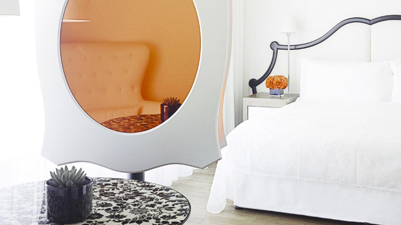 Mondrian room