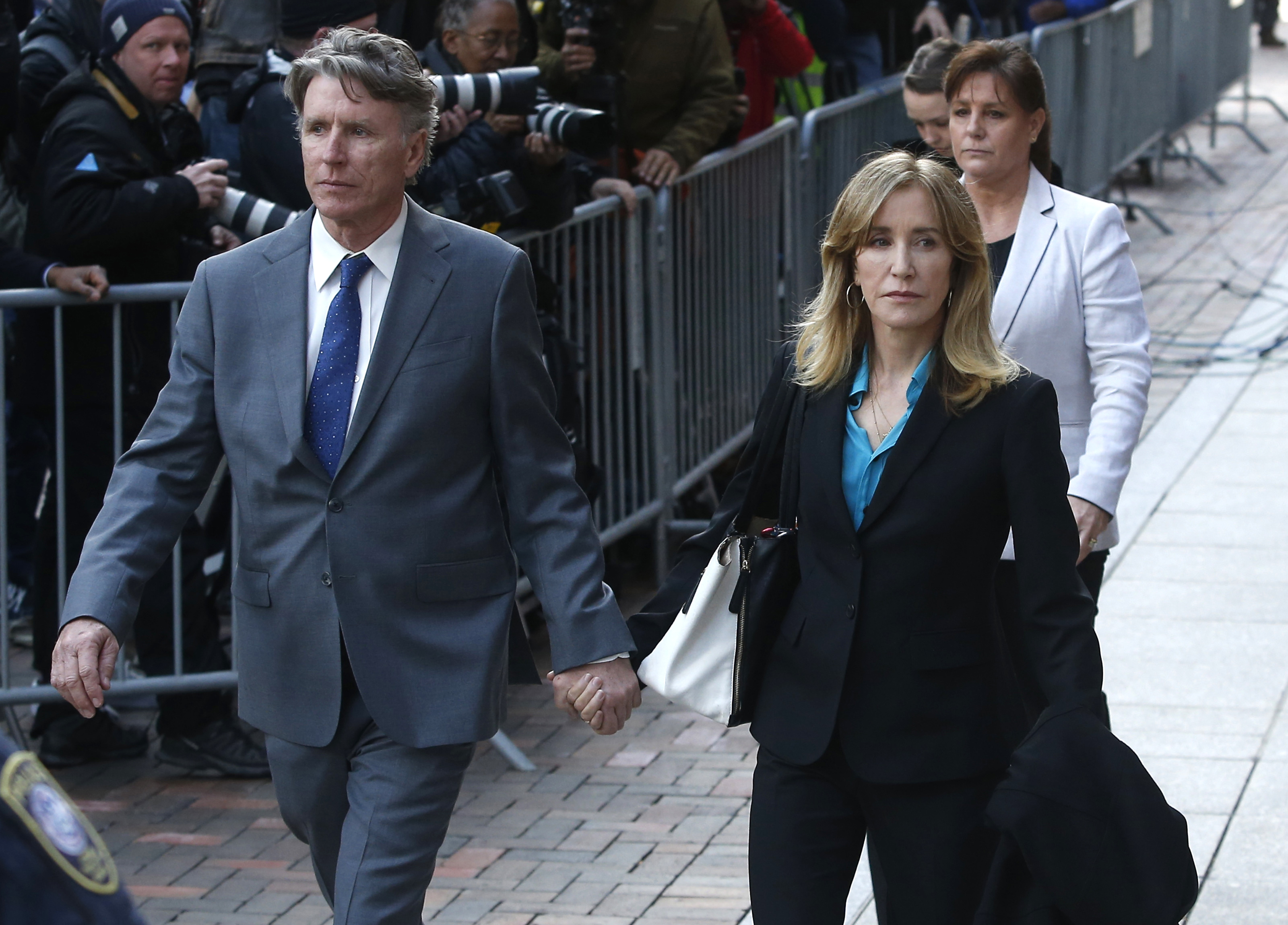 Felicity Huffman college admissions scam