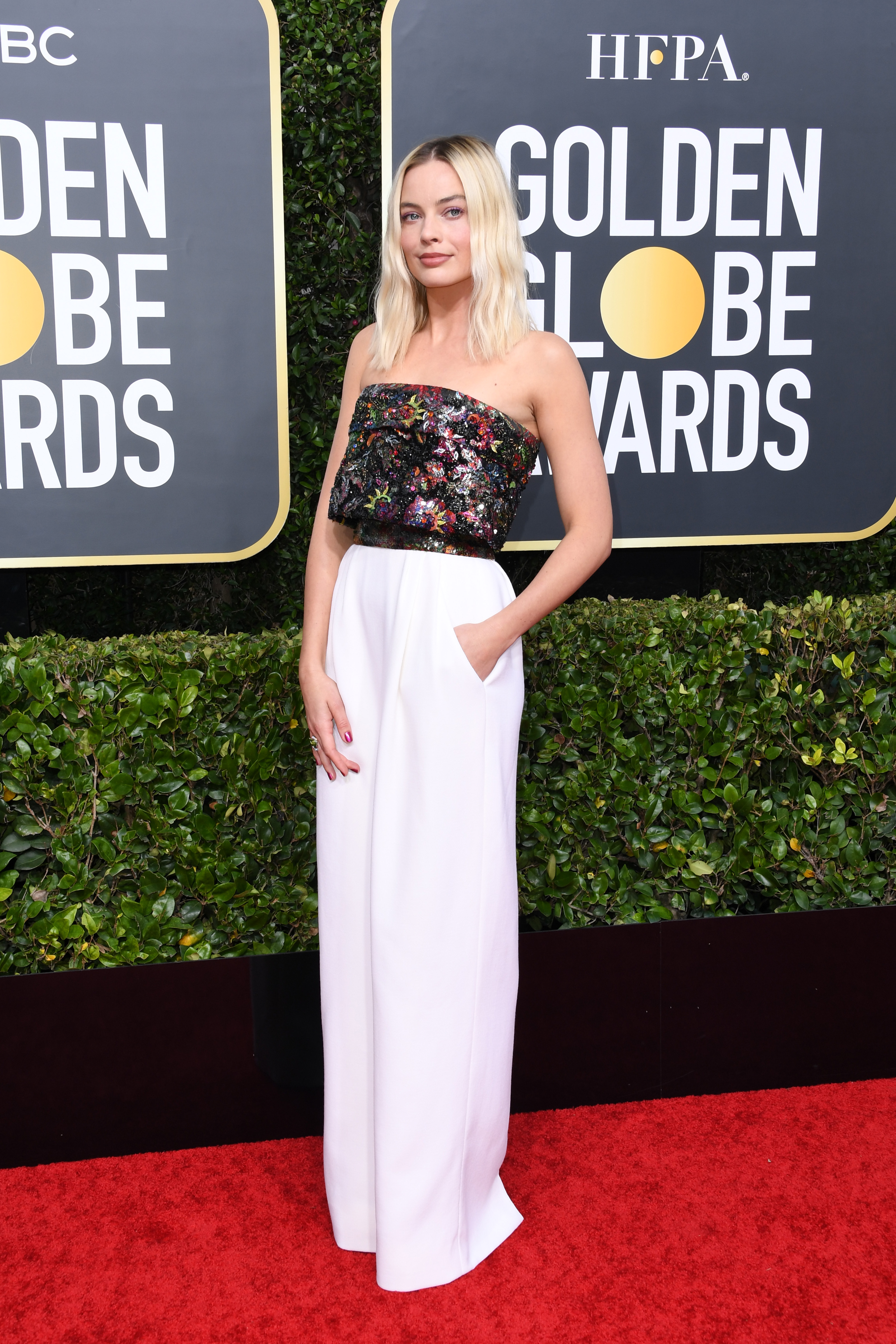 Margot Robbie Golden Globes 2020