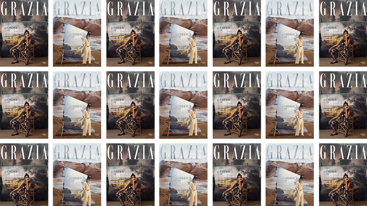 SUBSCRIBE TO GRAZIA for your copy of An Order of Chaos