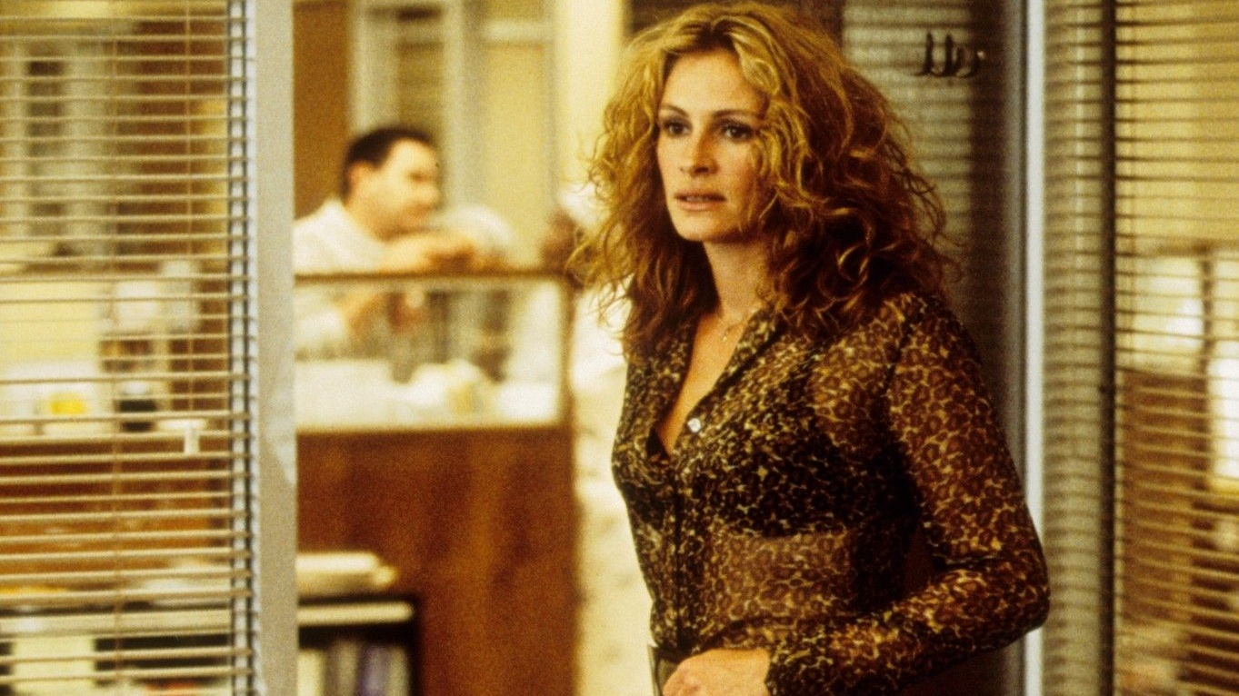 A Sheer Blouse And Leather Mini Edit Inspired By Julia Roberts' Erin Brockovich - Grazia
