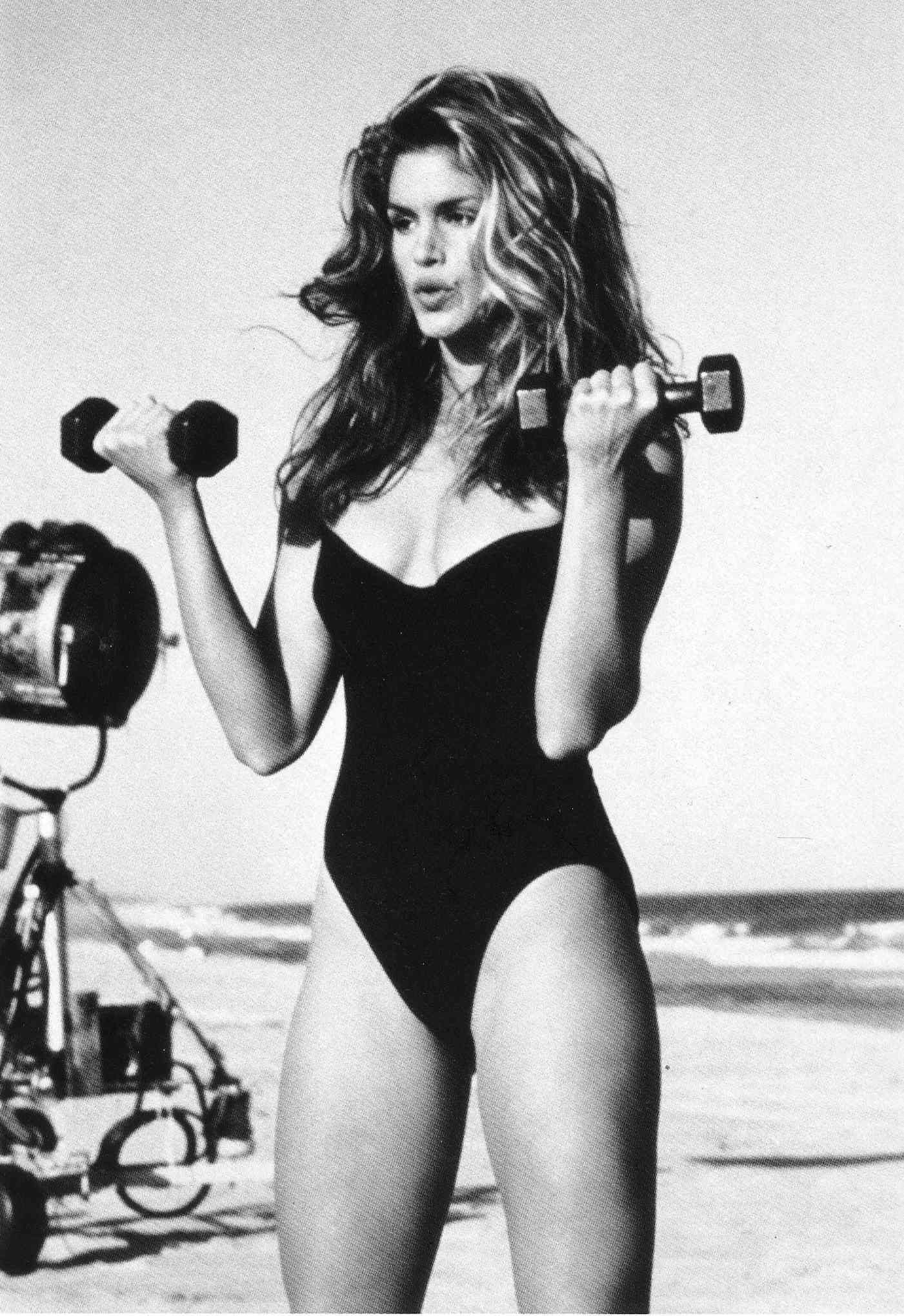 Cindy Crawford arm workout