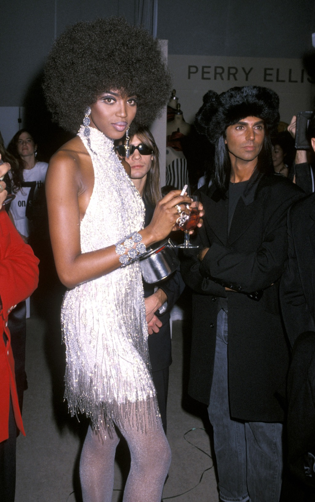 Naomi Campbell Beauty Looks