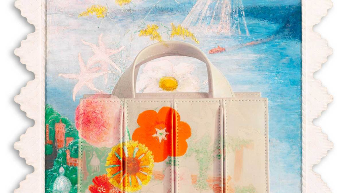 Work Of Art: Max Mara's New Whitney Bag Is A Welcome Dose Of Sunshine